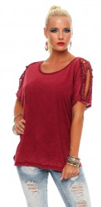 IKONA21 - Fashion -  Damen - Oversize - Shirt - Bluse