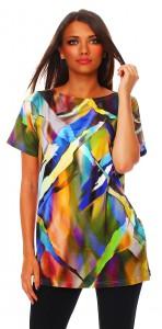 IKONA21 - Classic - Damen-T-Shirt 1/2-Arm