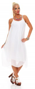 IKONA21 - Fashion - Damen - Oversize - Shirt - Bluse - Tunika - Longtop - Kleid