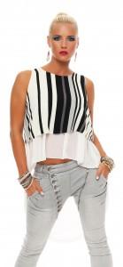IKONA21 - Fashion - Damen - Oversize - Shirt - Bluse - Tunika - Longshirt - Top