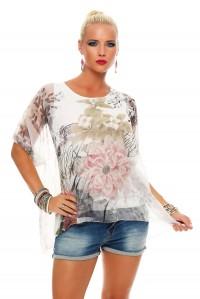 IKONA21 - Fashion - Damen - Oversize - Shirt - Bluse - Tunika