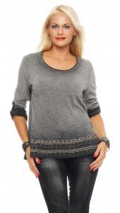 IKONA21 - Fashion - Damen - Oversize - Shirt - Sweatshirt - Bluse - Tunika