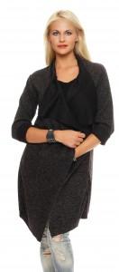 IKONA21 - Fashion - Damen - Oversize - Jacke - Longjacke