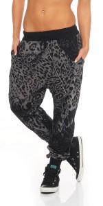 IKONA21 Fashion Damen Hose Harems Jogging Pump Street Wear Sweat Pants