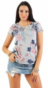 IKONA21 – Fashion Italy  Damen Shirt Bluse Tunika Longshirt Onesize S M  36 38 500 622